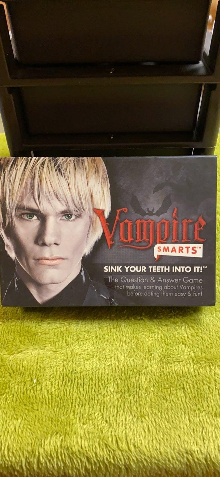 Vampire smarts trivia game