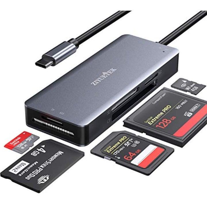 USB C SD TF CF Card Reader