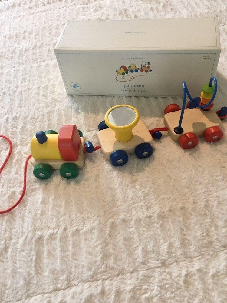 PBK train pull toy