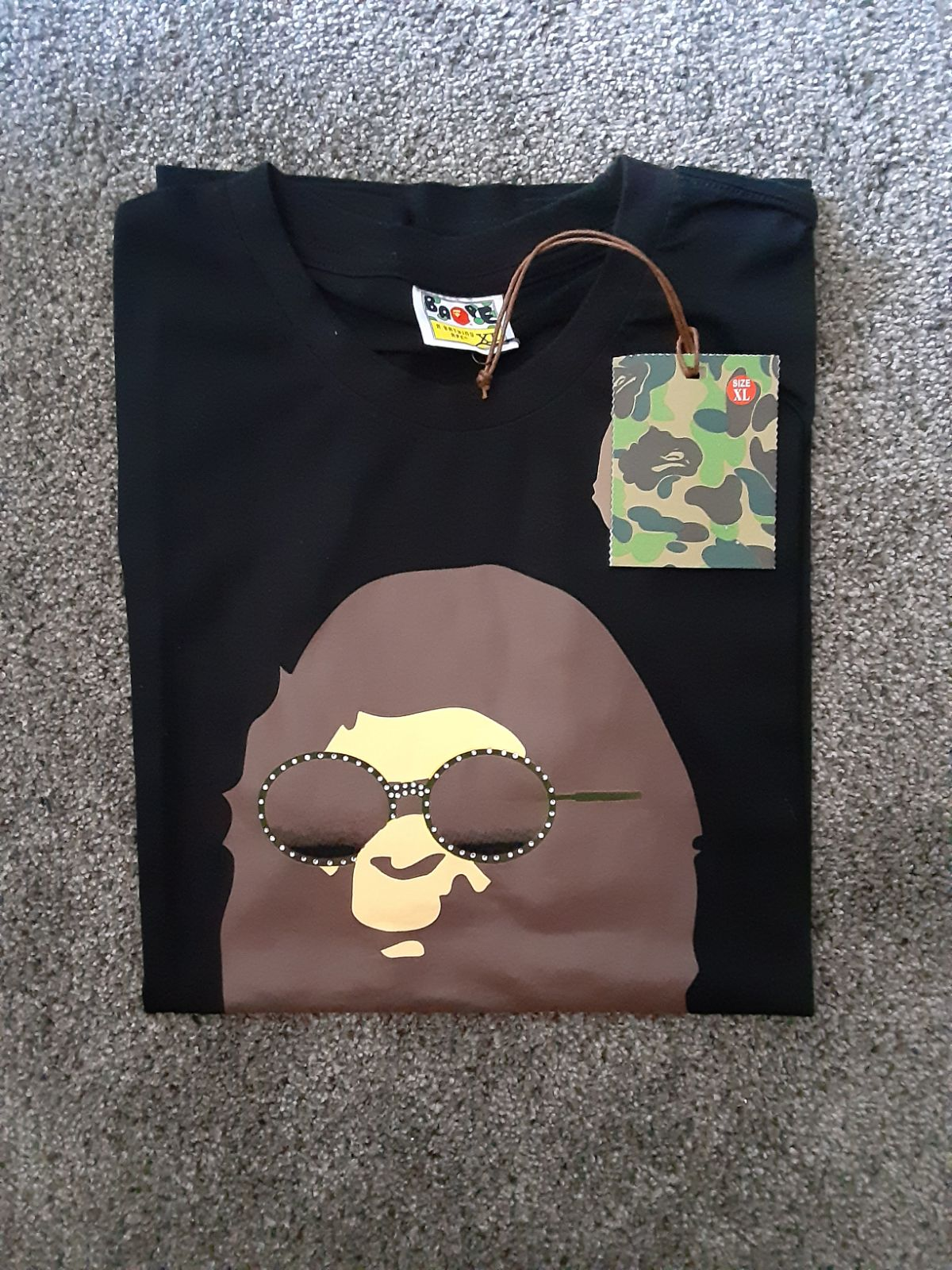 Bape Shirt  APE ASIAN SIZE XL