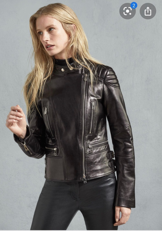 BELSTAFF Sidney Women's Leather Moto Jac