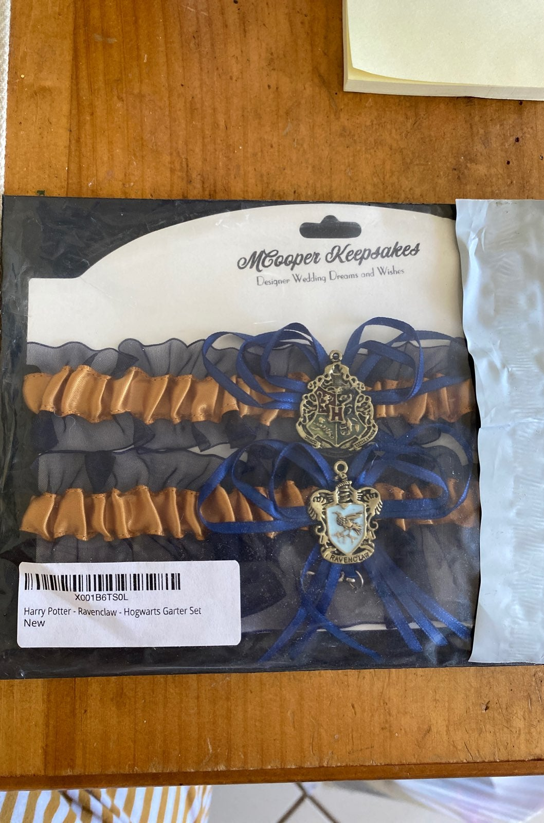 NWT Harry Potter Ravenclaw Garter