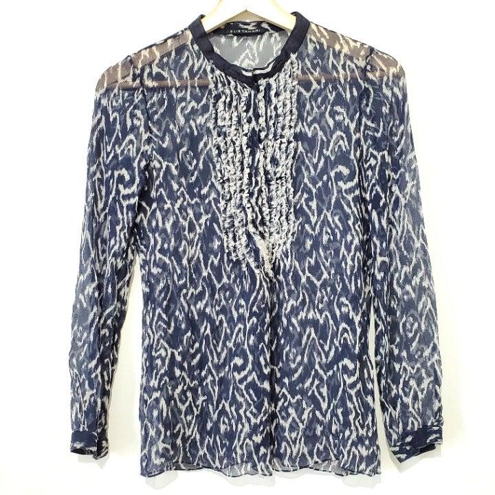 Elie Tahari Silk Blouse Size XS