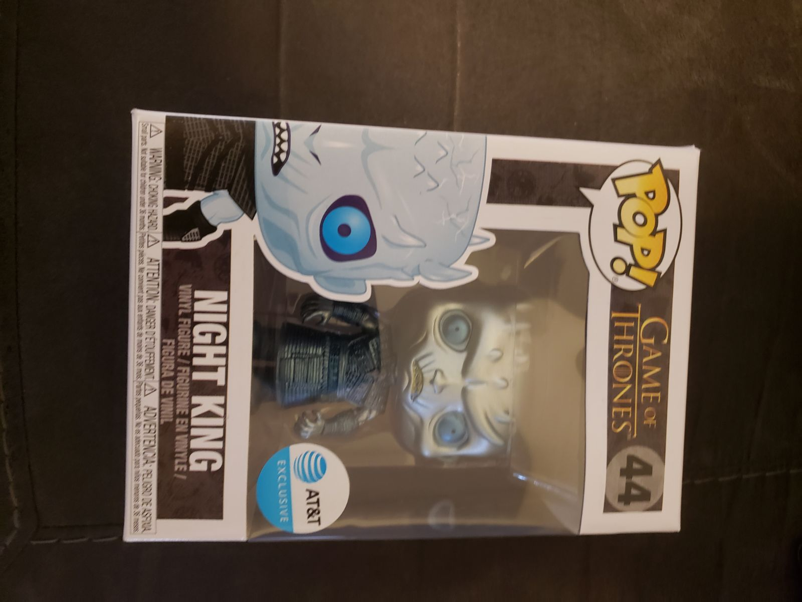 Funko pop night king gane of thrones