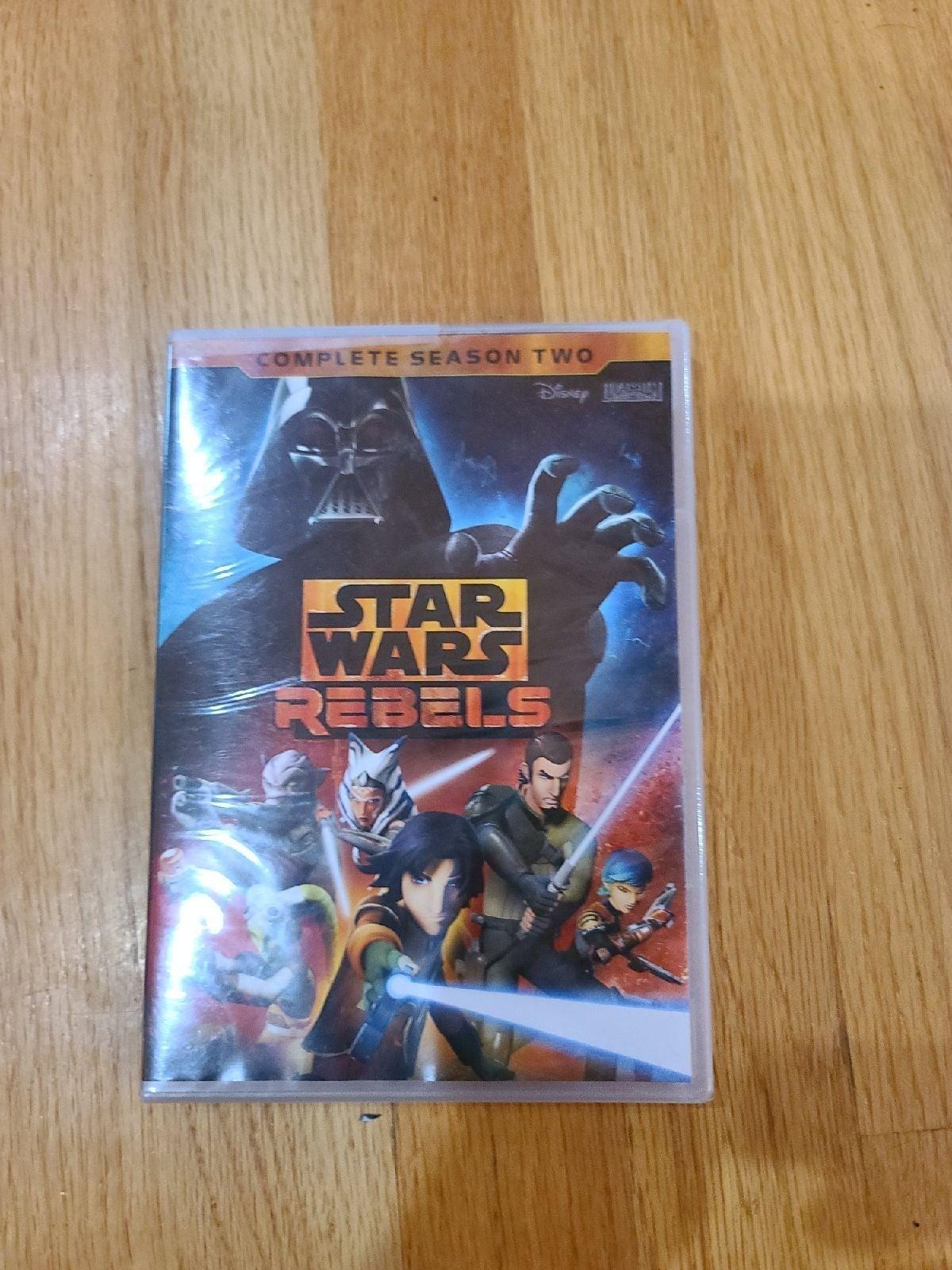 DVD Star Wars Rebels complete season two