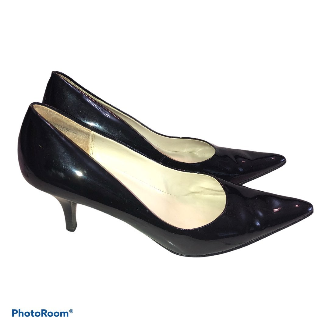 Anne Klein Black Patent Leather Pointed