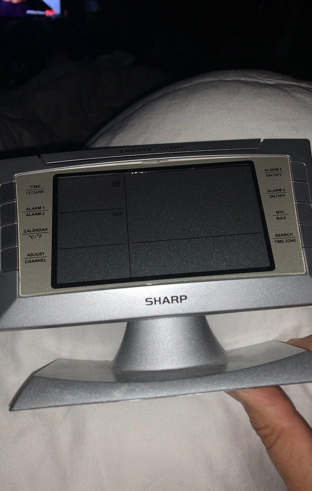 Alarm clock Sharp