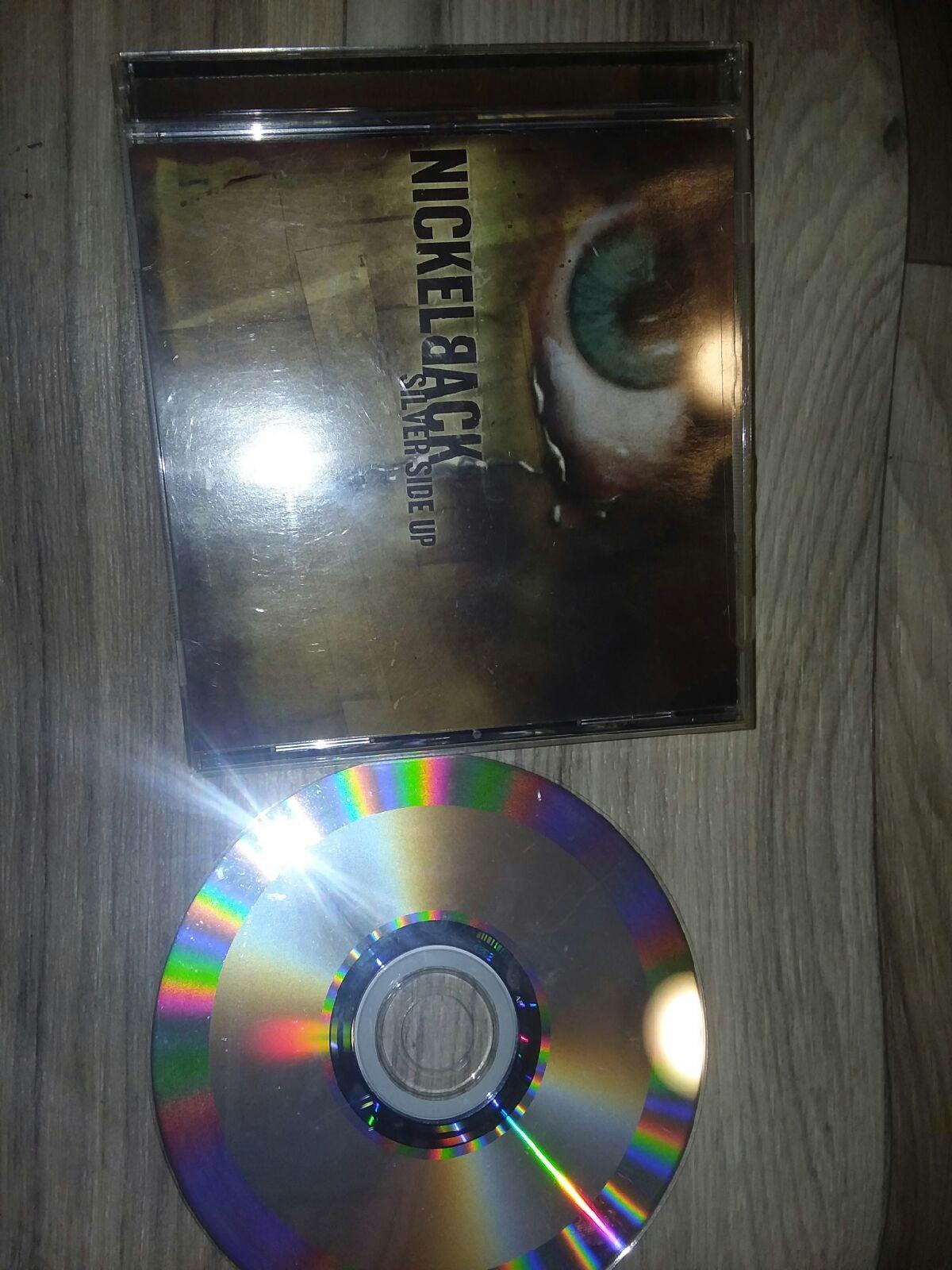 Nickelback silver side up cd