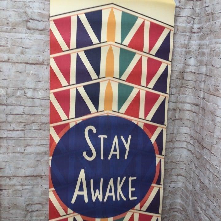 "Stay Awake Yoga Mat 72"" x 24"""