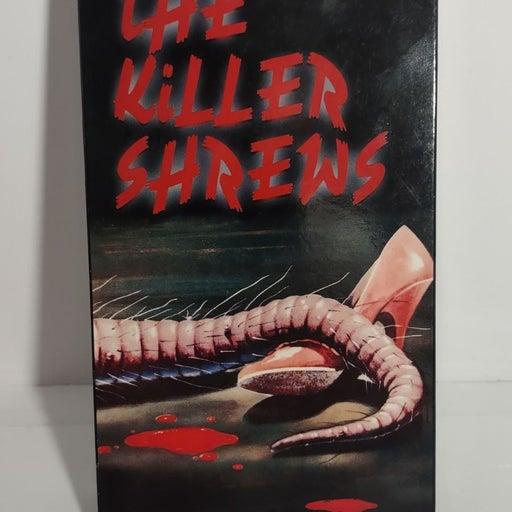 The Killer Shrews VHS Tape