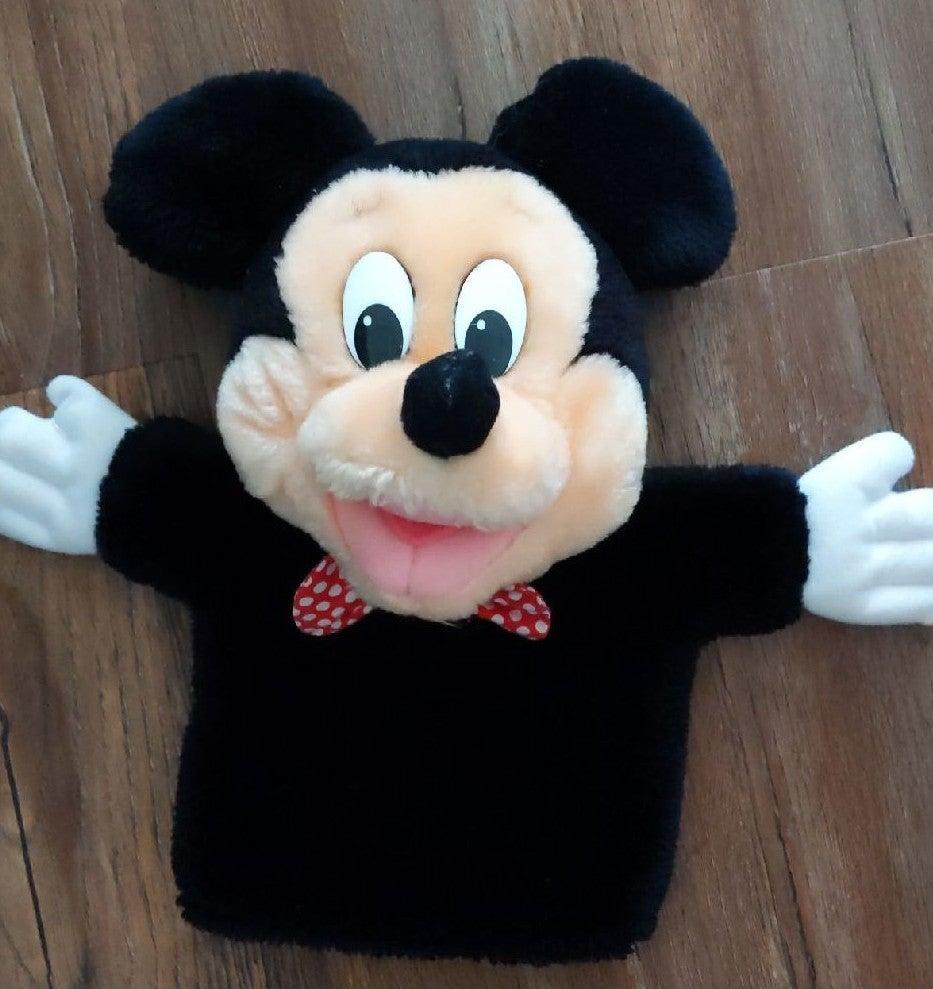 Mickey Mouse Plush Hand Puppet Disney