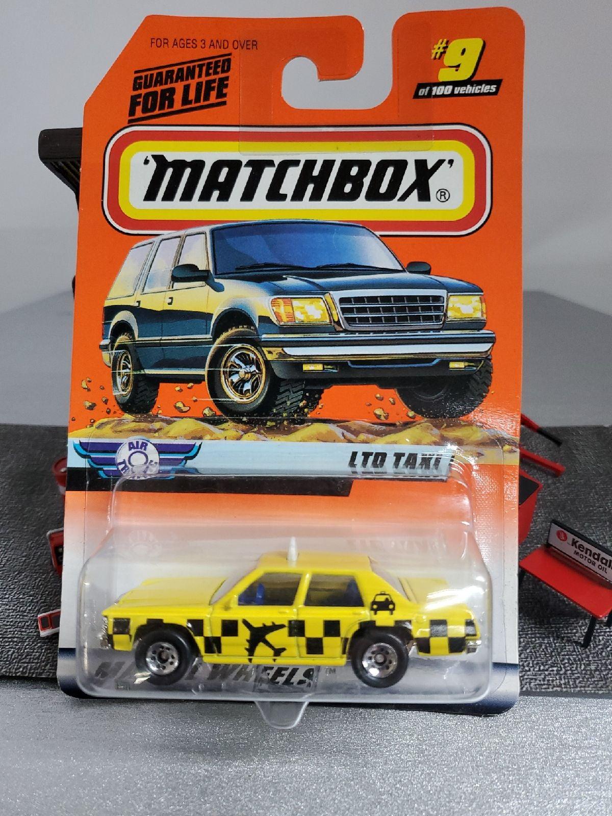 Matchbox Ford Ltd taxi
