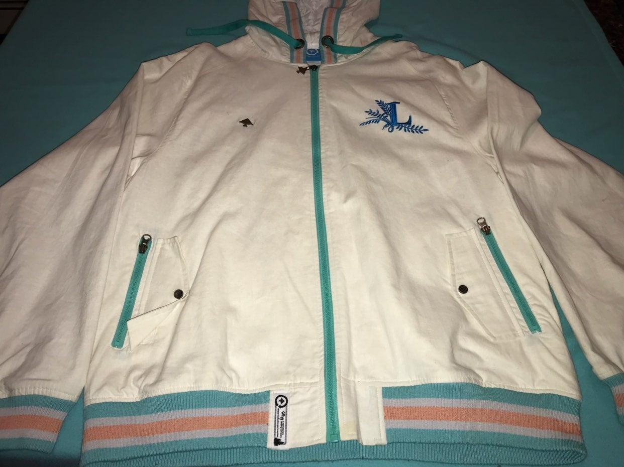 Lrg White Track Jacket