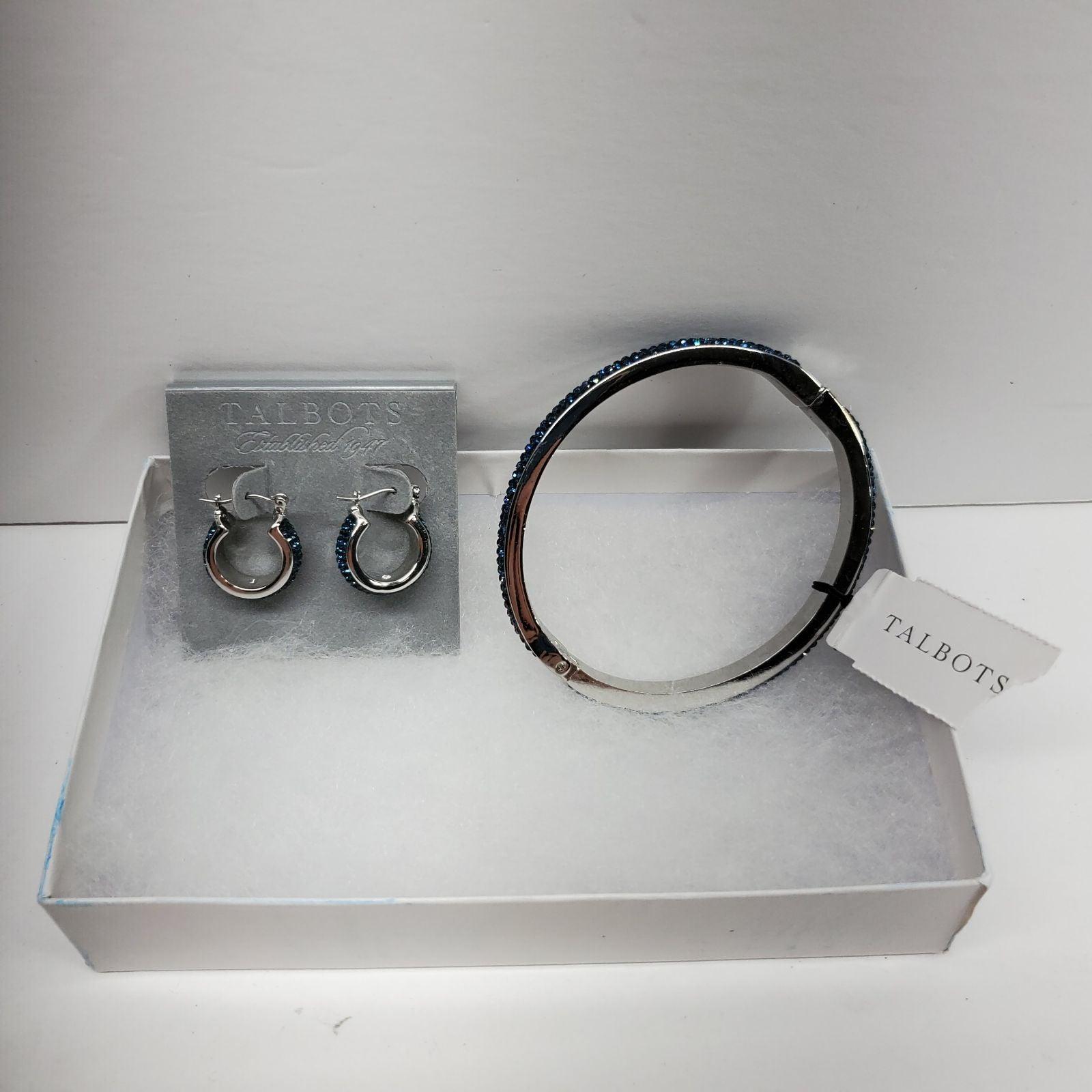 Talbots Bracelet Earring set