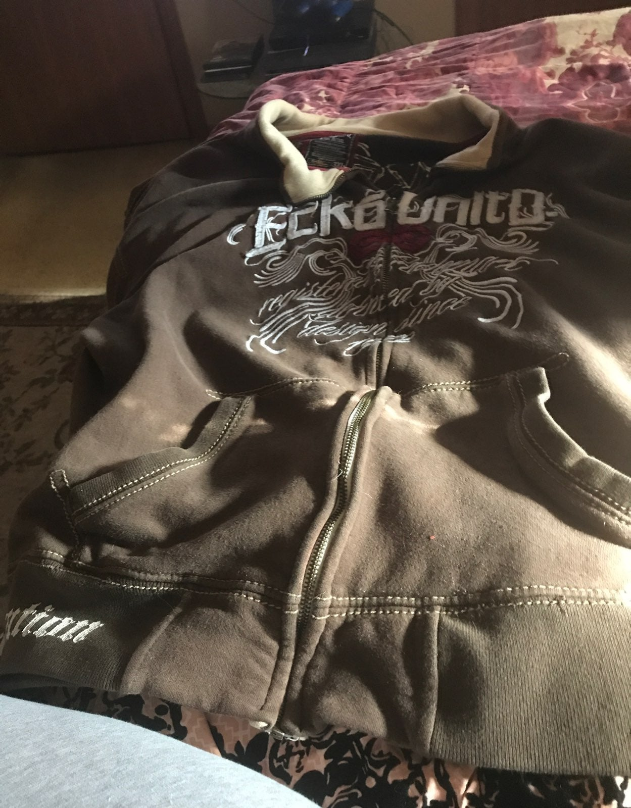 Ecko Unlimited Vintage Jacket -3XL