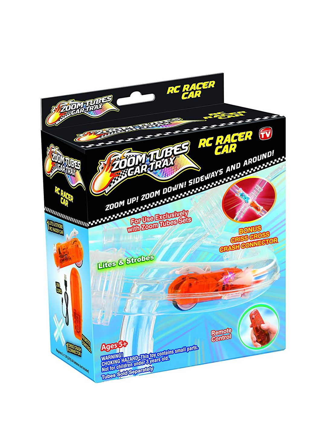 New Zoom Tubes RC Racer Car