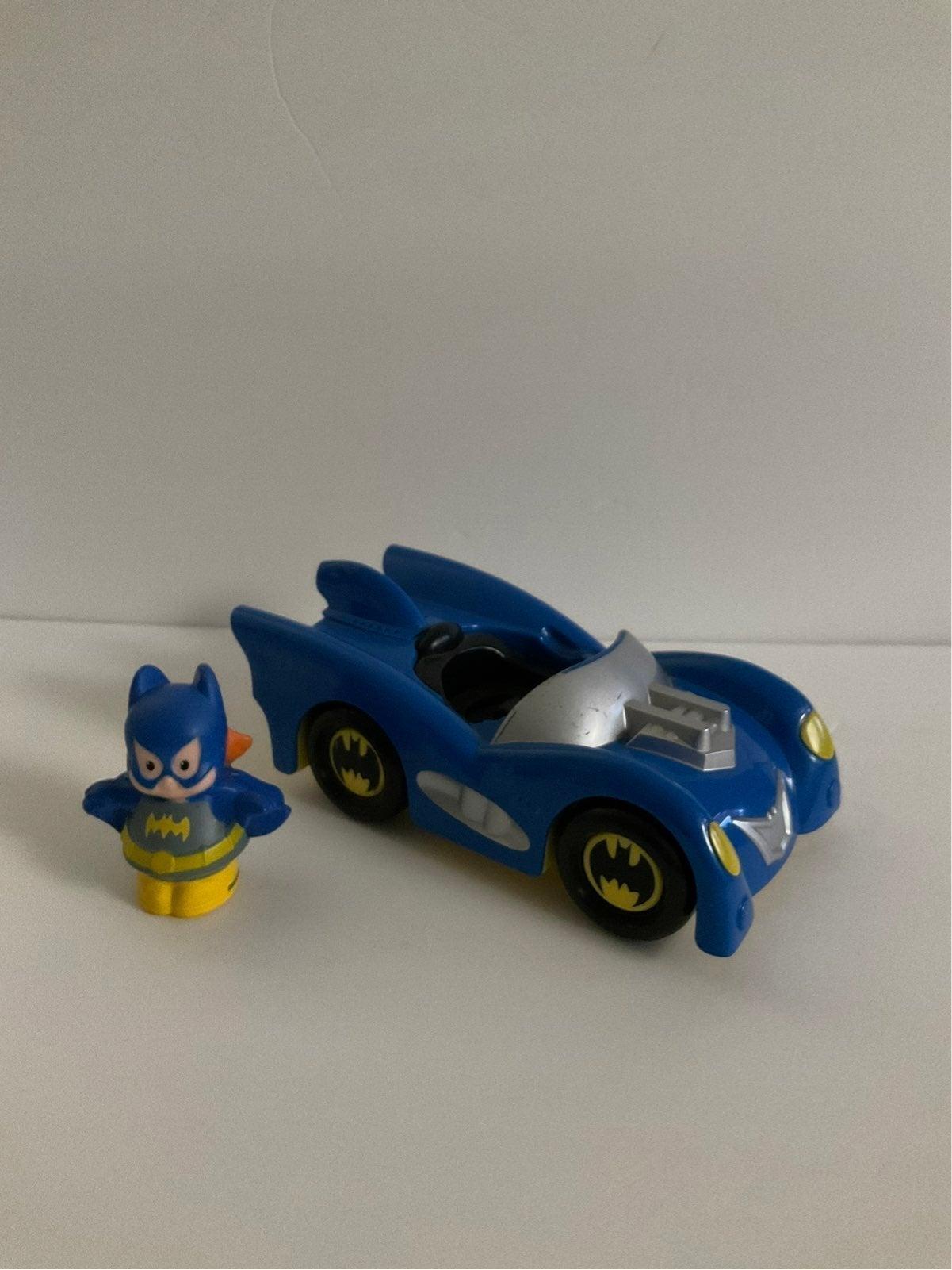 Fisher Price Little People Batman  Car