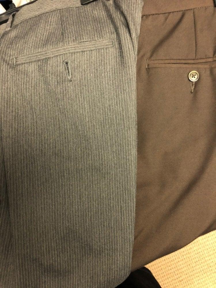 4 pairs of Mens Perry Ellis dress pants