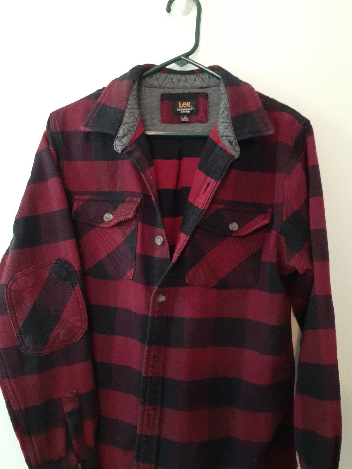 Heavy Duty Lee Plaid Shirt,Jacket