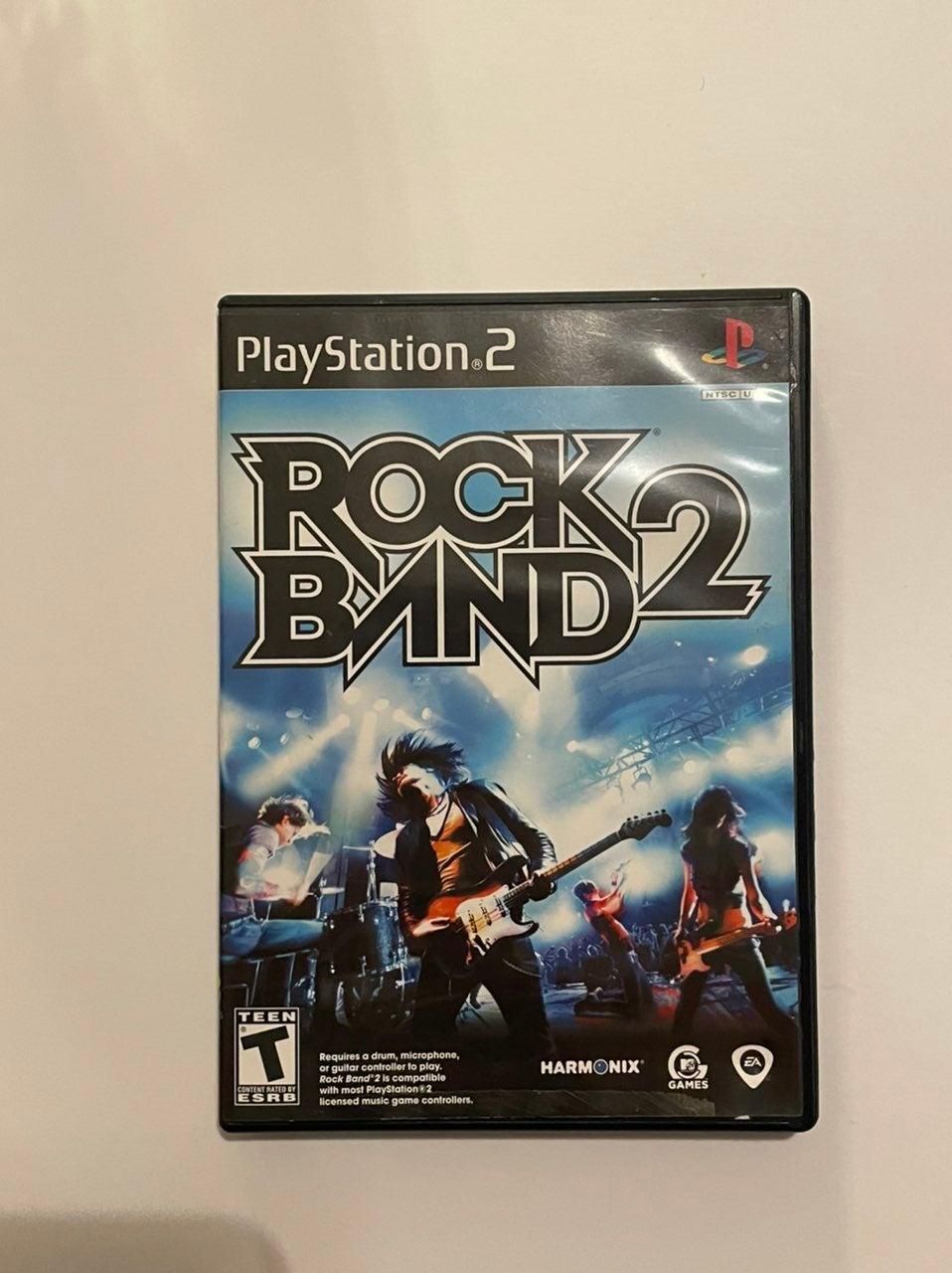Rock Band 2 on Playstation 2