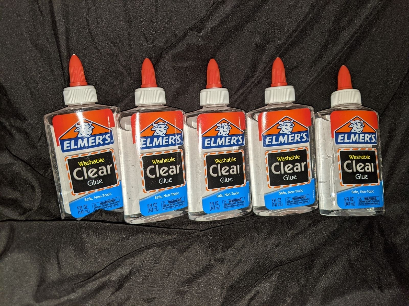 5 bottles of elmer's clear glue