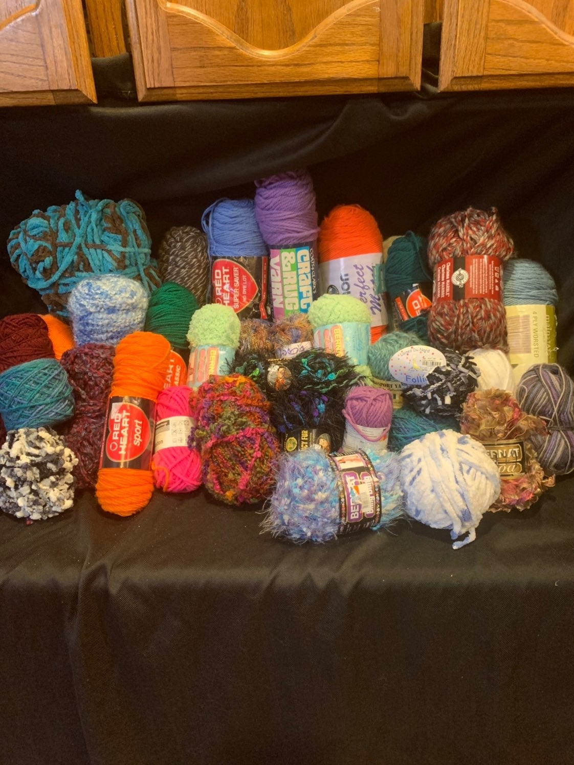 **RESERVED FOR MARY**Yarn Lot