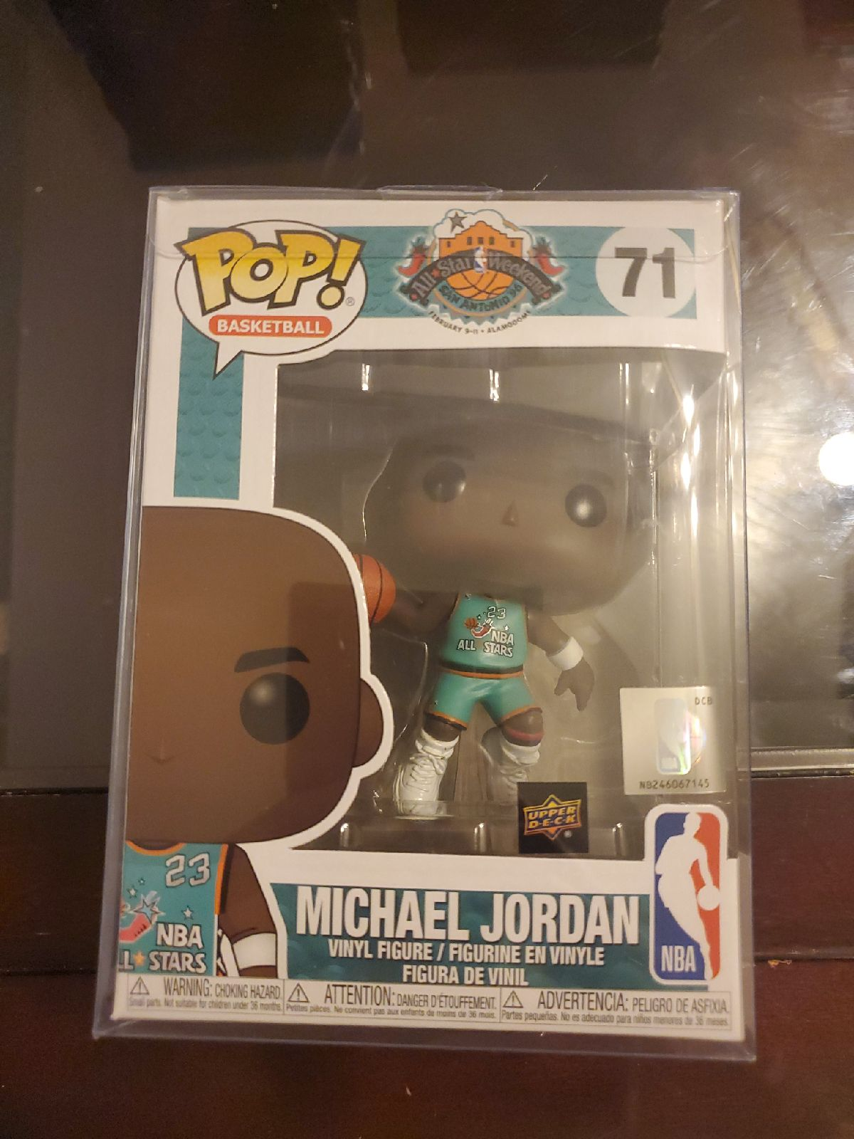 Funko Pop Michael Jordan UD Exclusive