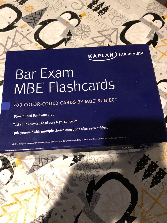 Kaplan MBE Flashcards