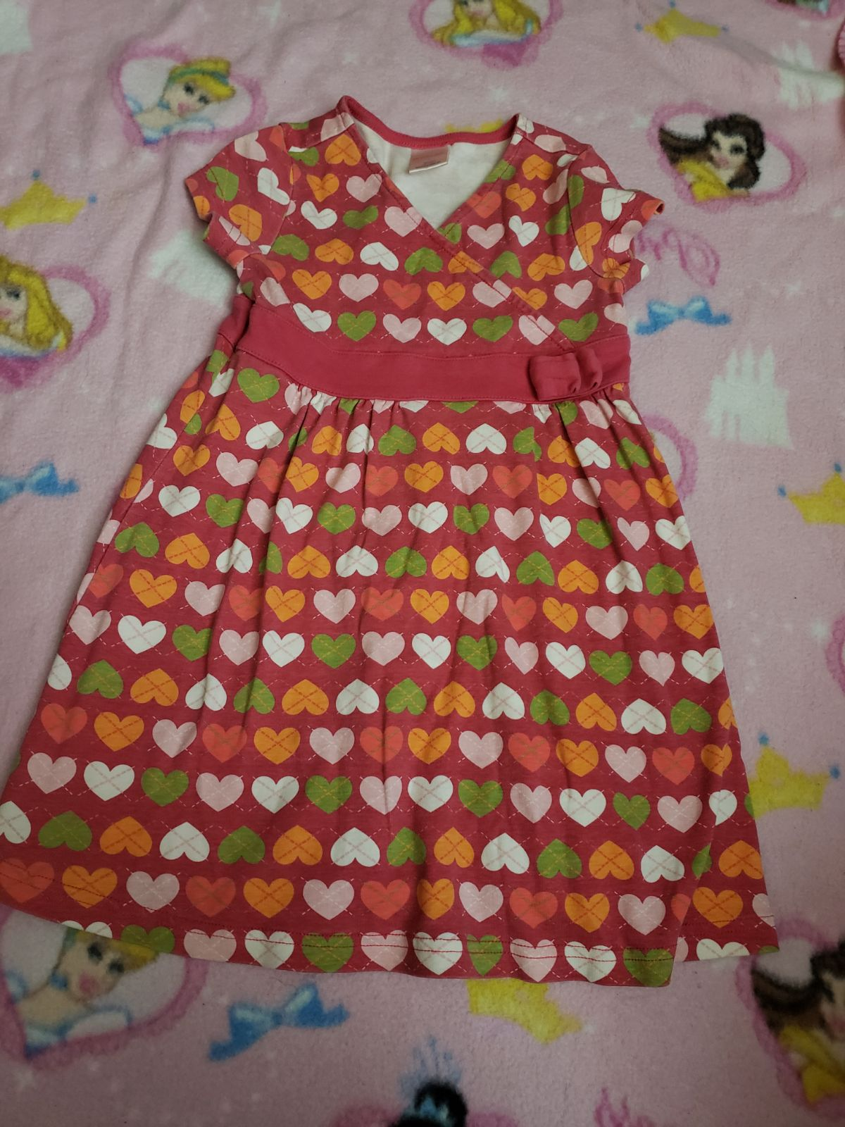 Girls hearts dress 4t