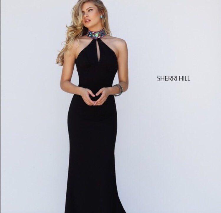 Sherri Hill Black Dress