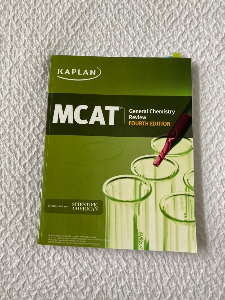 KAPLAN MCAT GEN CHEM REVIEW BOOK