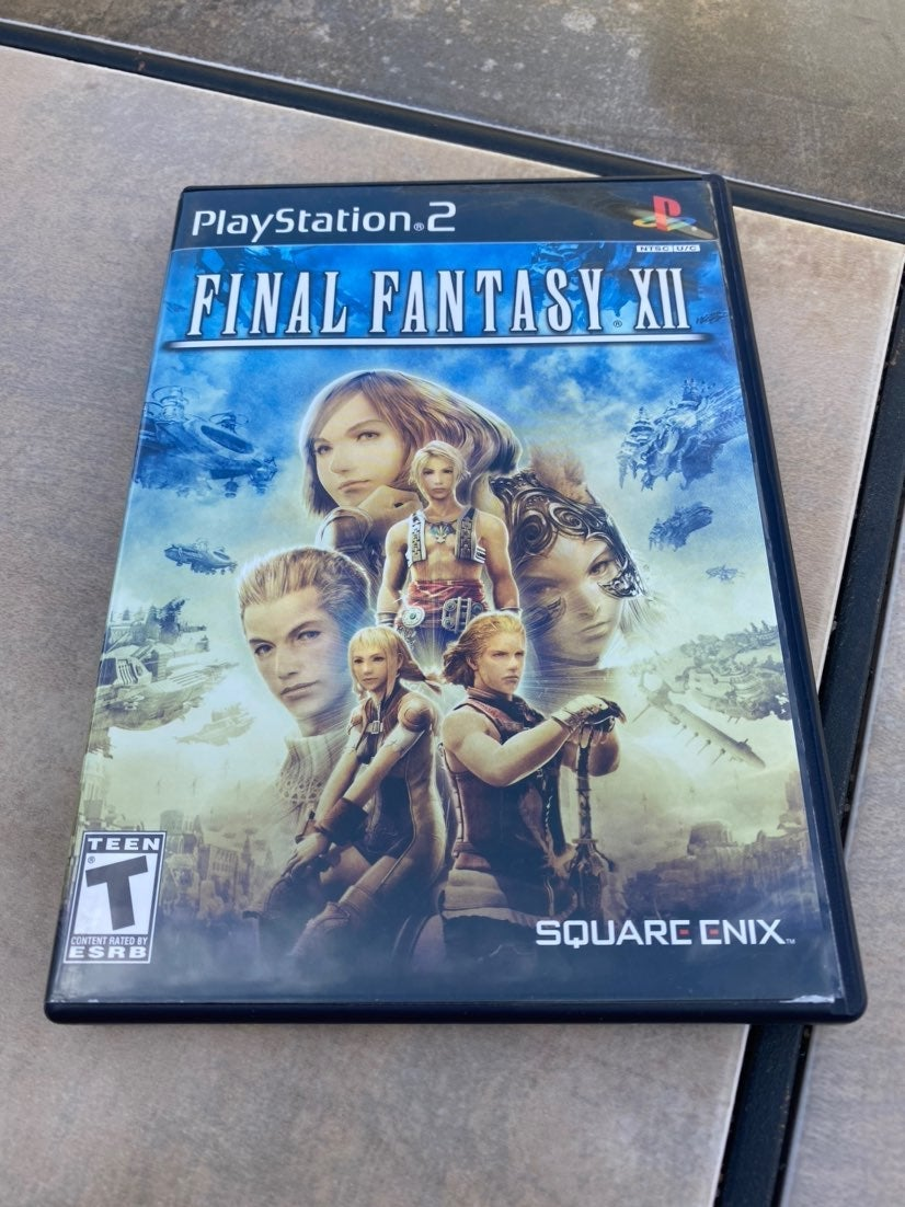 PS2 Final Fantasy xll Complete Excellent