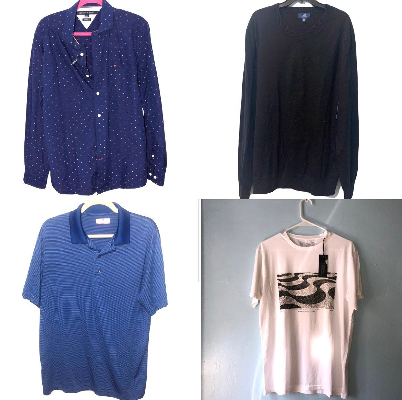 Mens lot of 4 shirts size medium