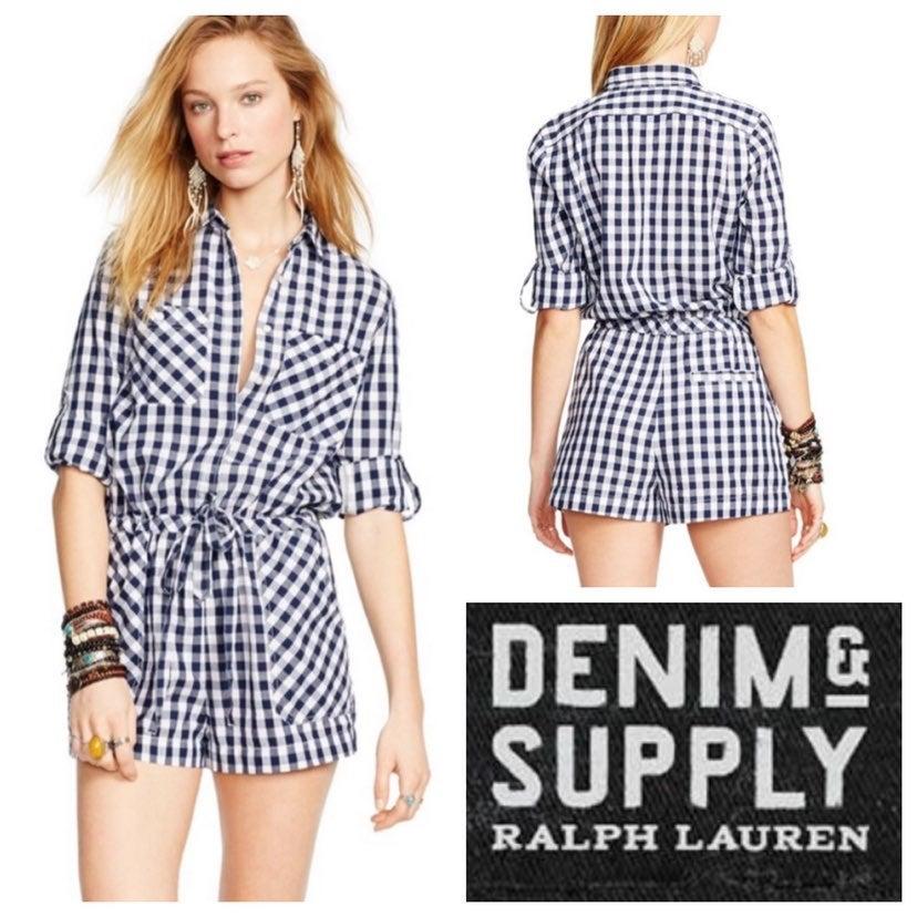 Denim & Supply Ralph Lauren Romper XL