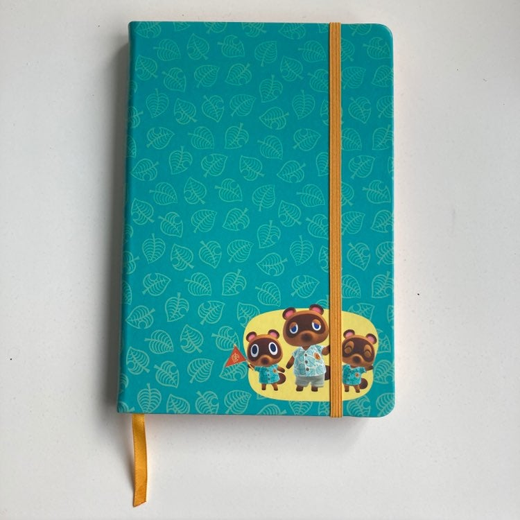 Animal Crossing Notebook journal