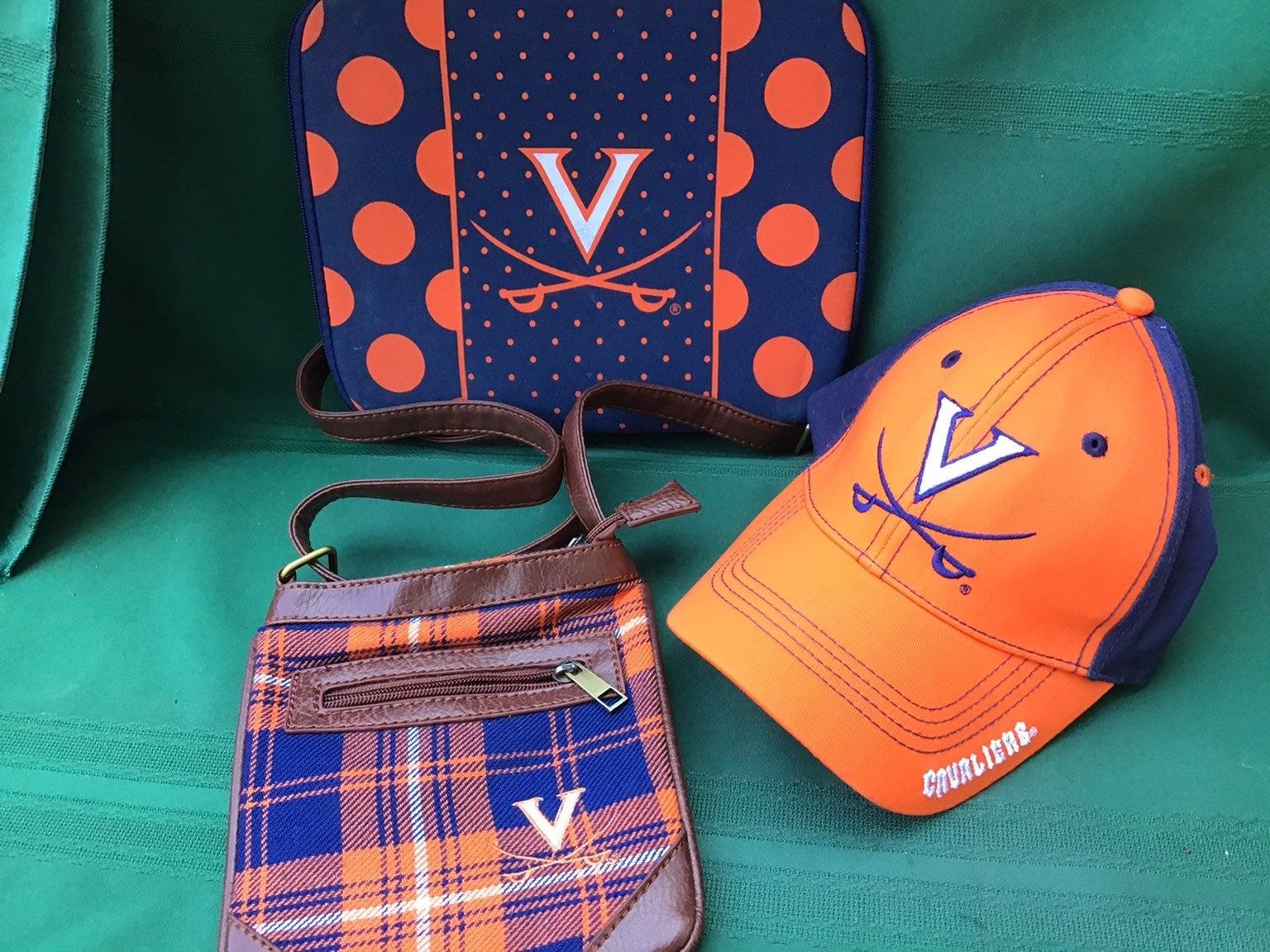 UVA Hat Purse Tablet sleeve set
