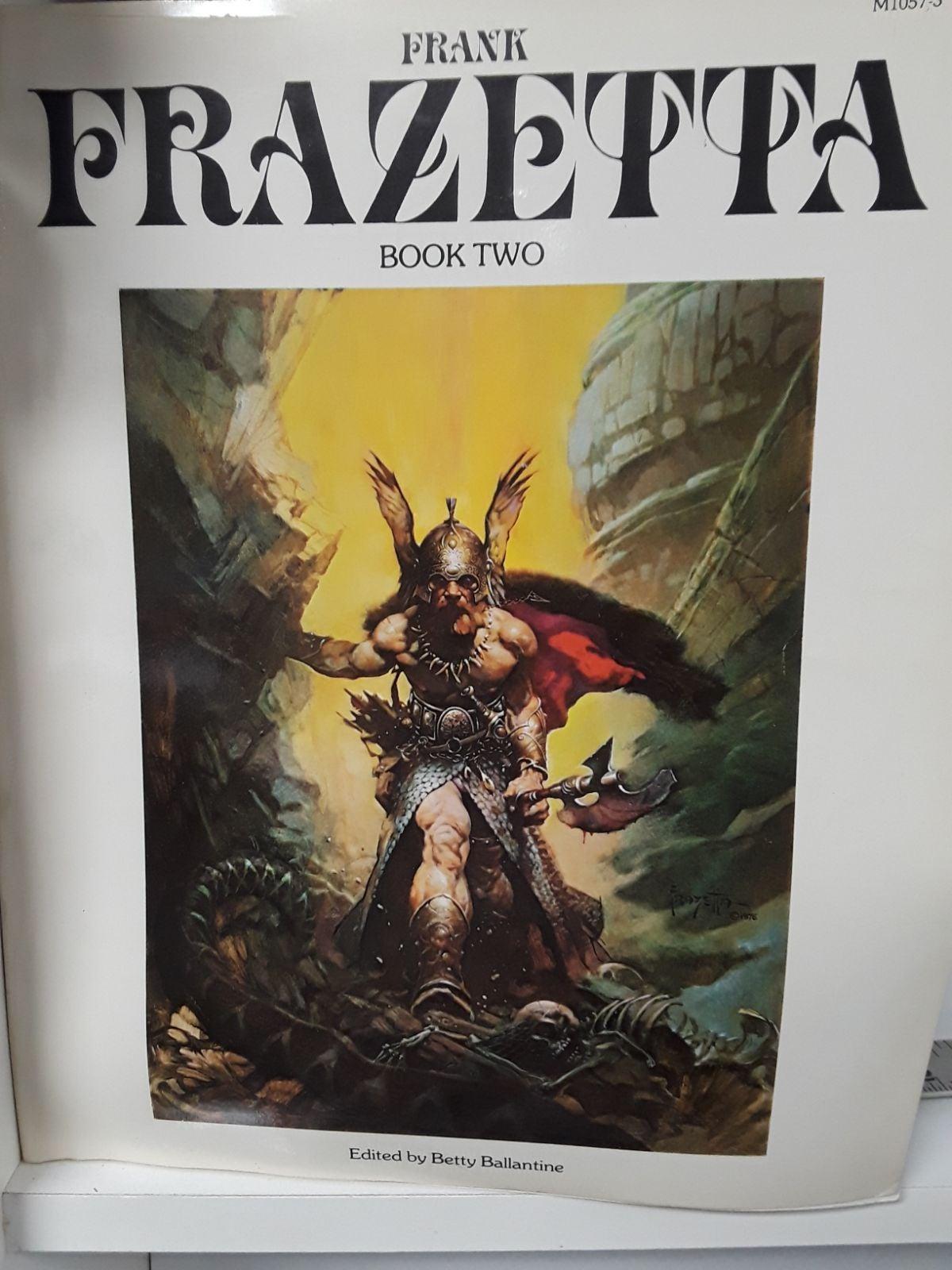 Fantastic Art of Frank Frazetta Book 2
