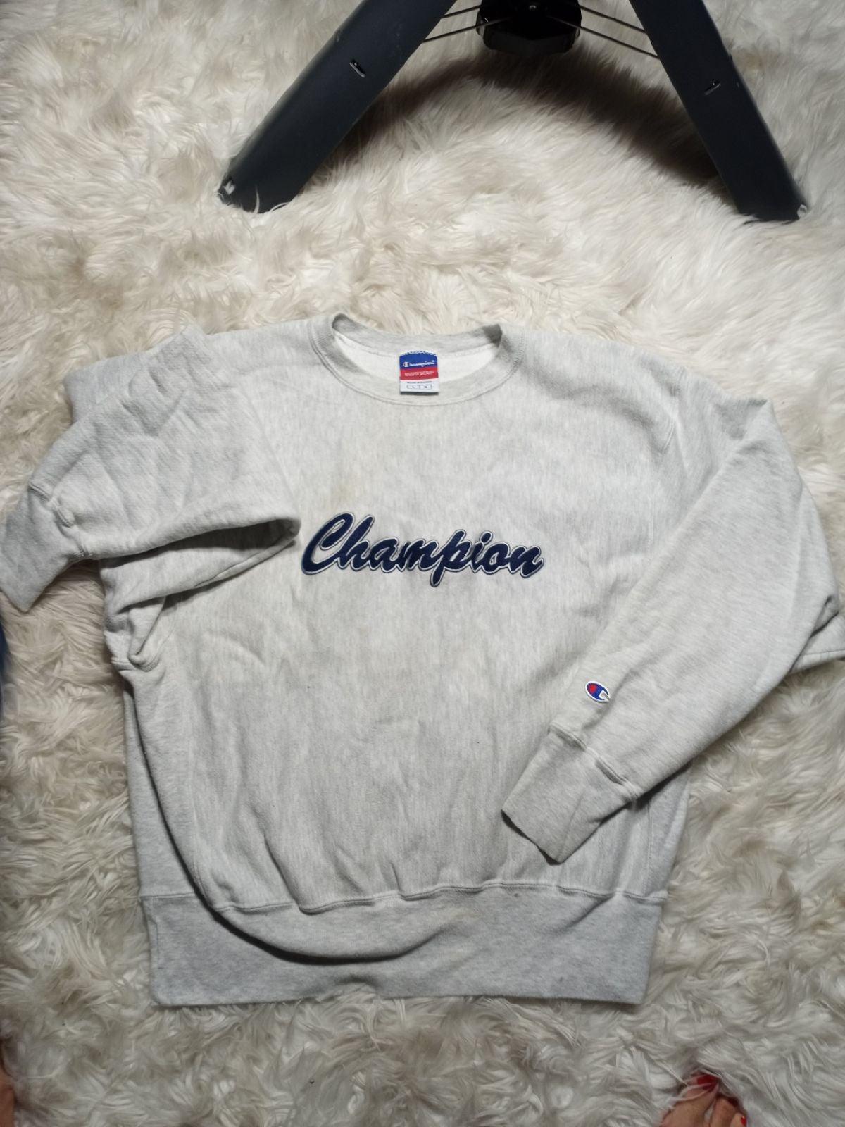 Vintage Champion Grey Sweater