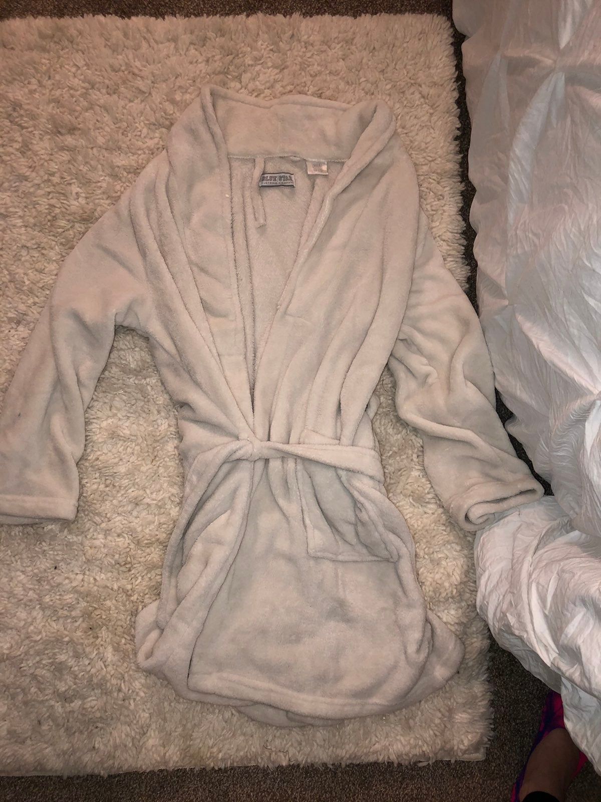 Light pink robe one size