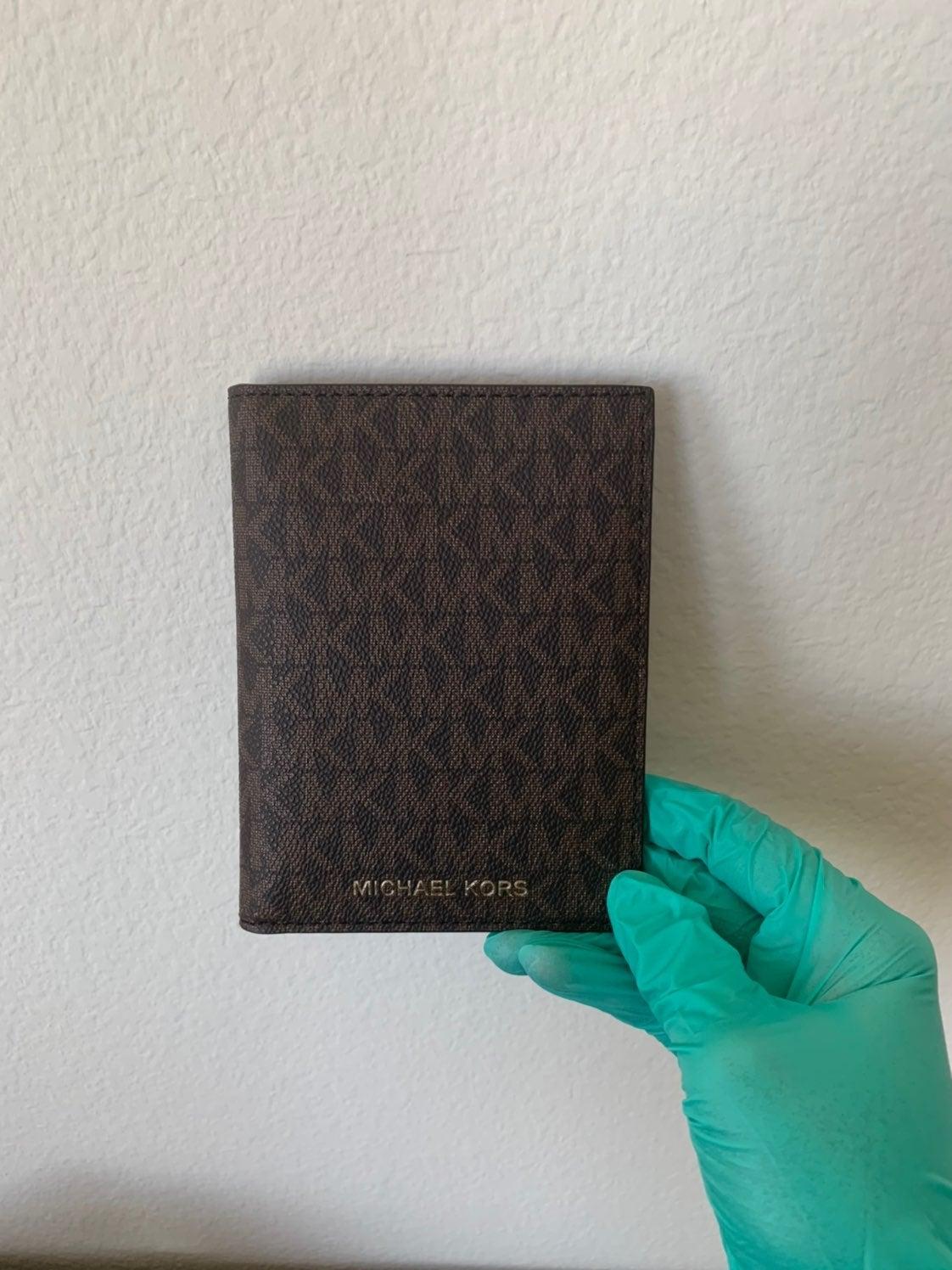Michael Kors Travel Passport Wallet