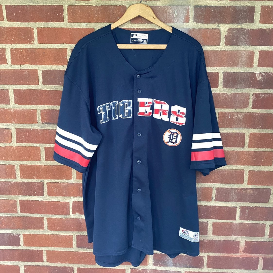 Detroit Tigers American Flag Jersey