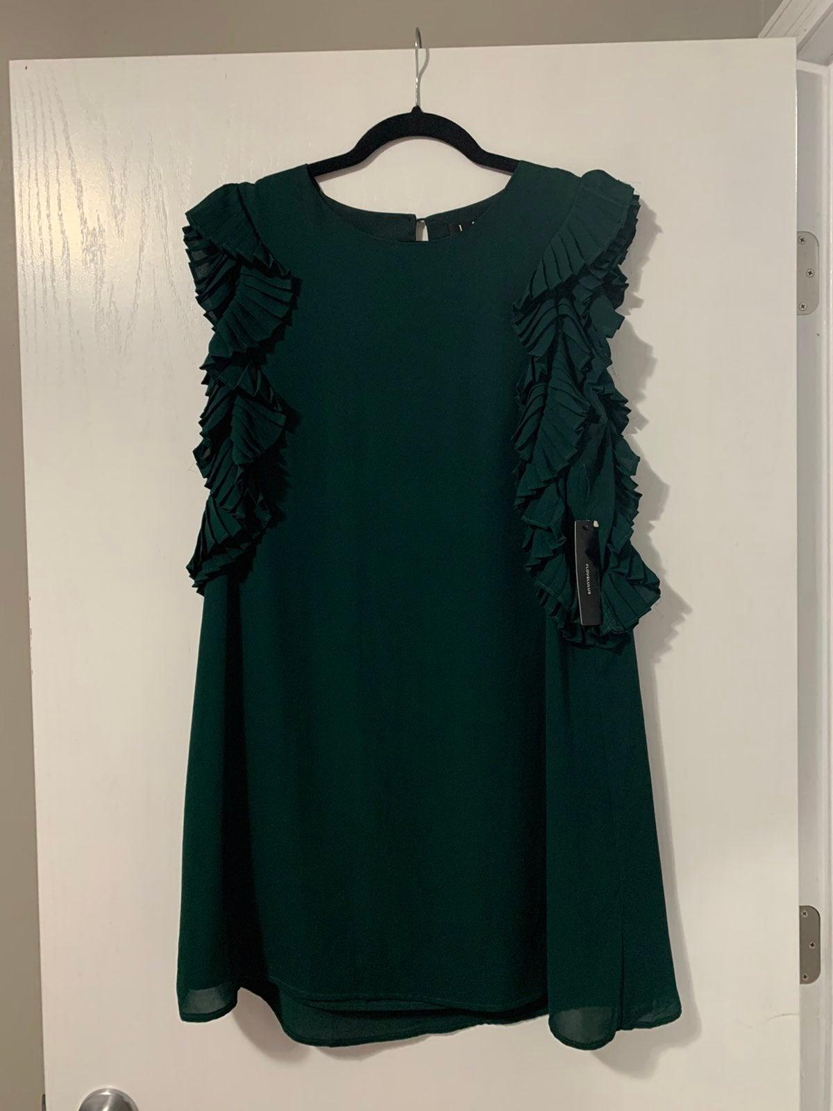 Lulus Dress Dark Green