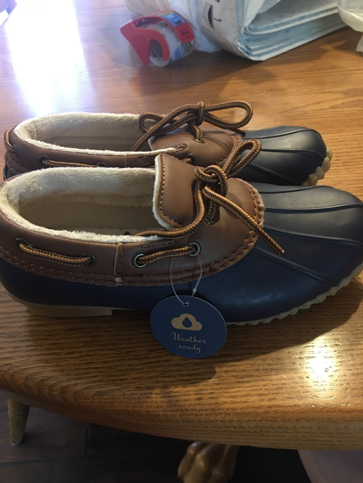 Jbu by jambu weather ready shoes size 6
