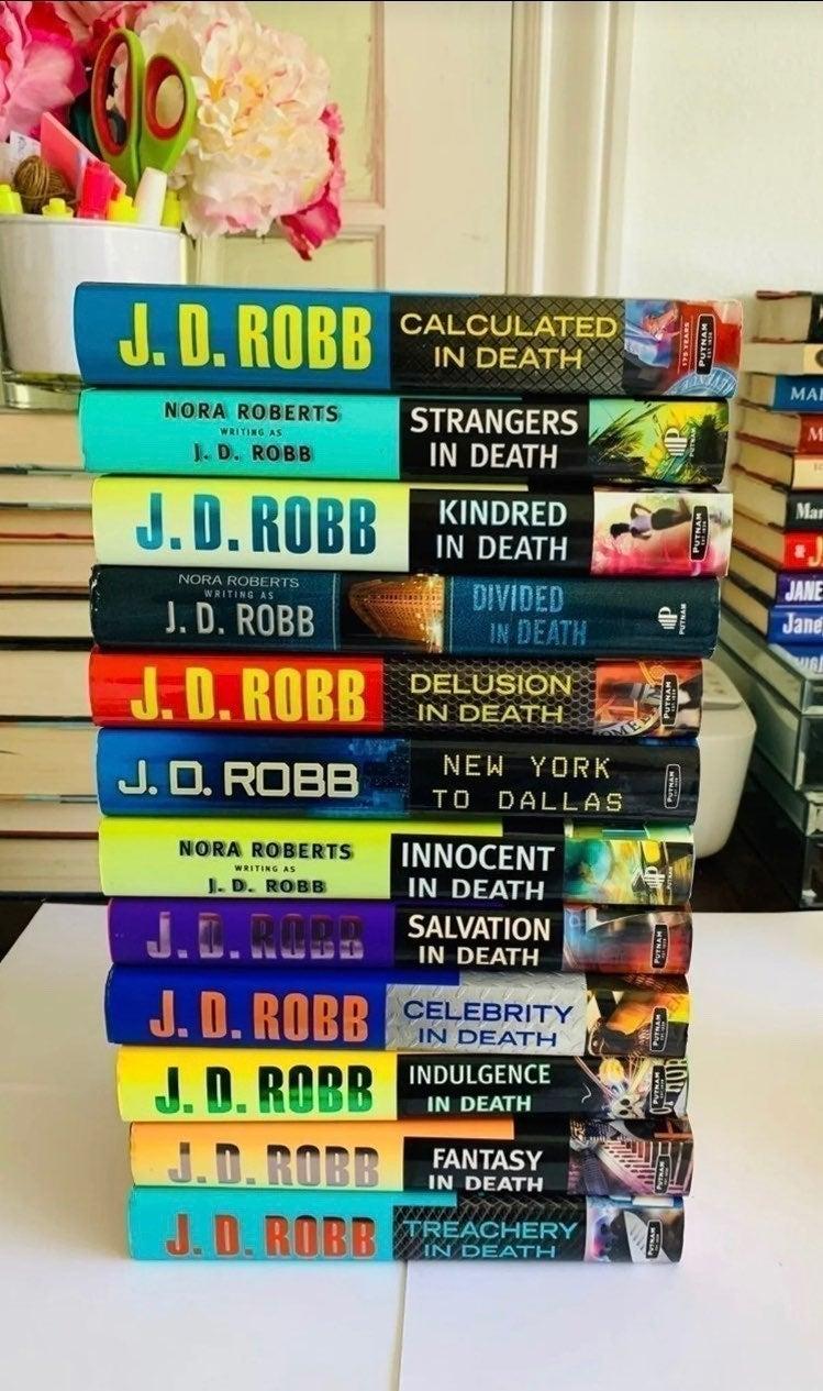 SOLD- J.D. Robb Bulk Set