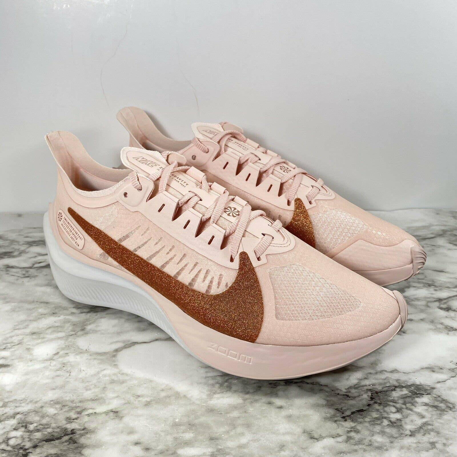 NEW Nike Zoom Gravity Pink Rose Gold