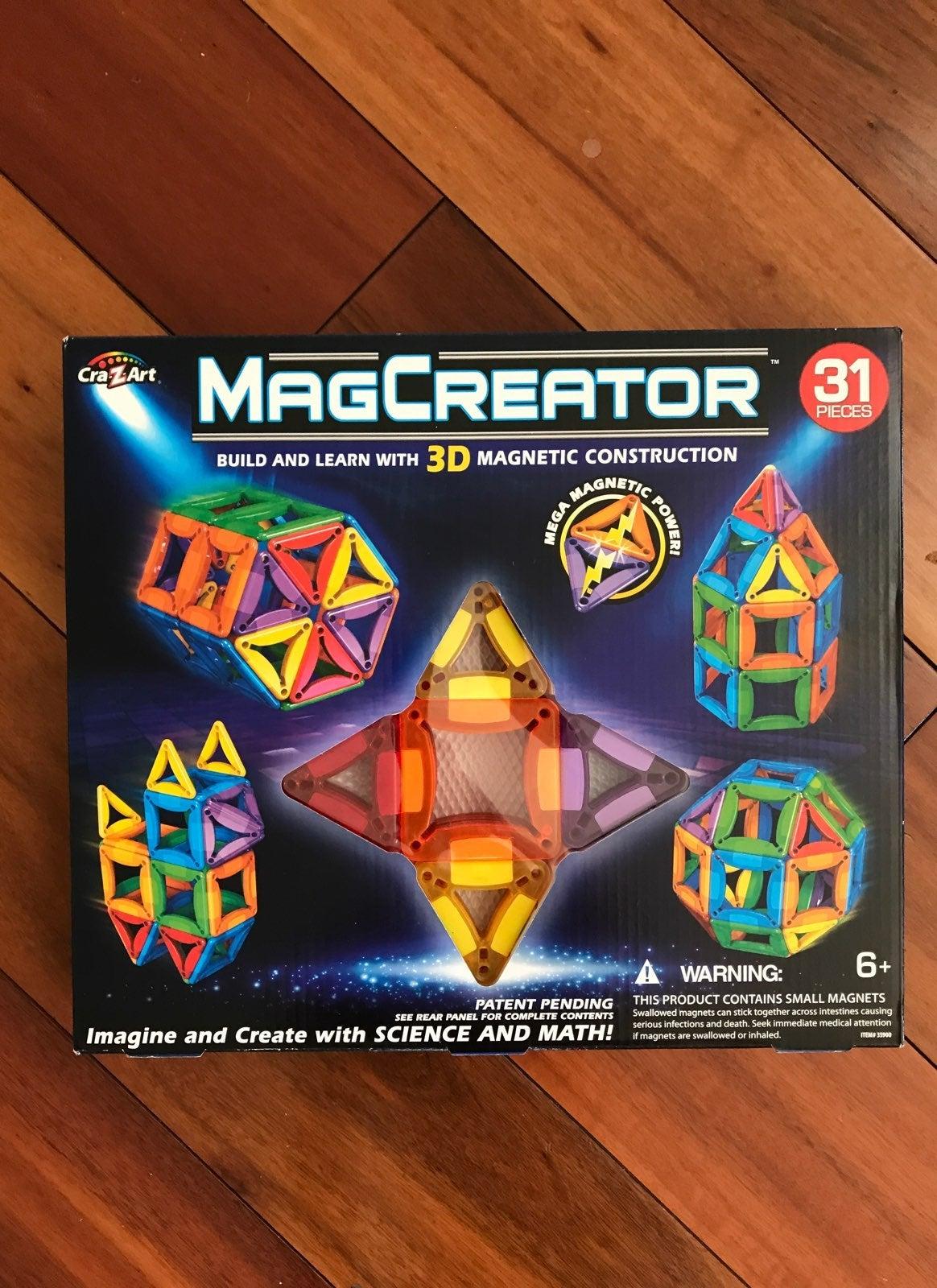 MagCreator 3-D Magnetic Construction 31