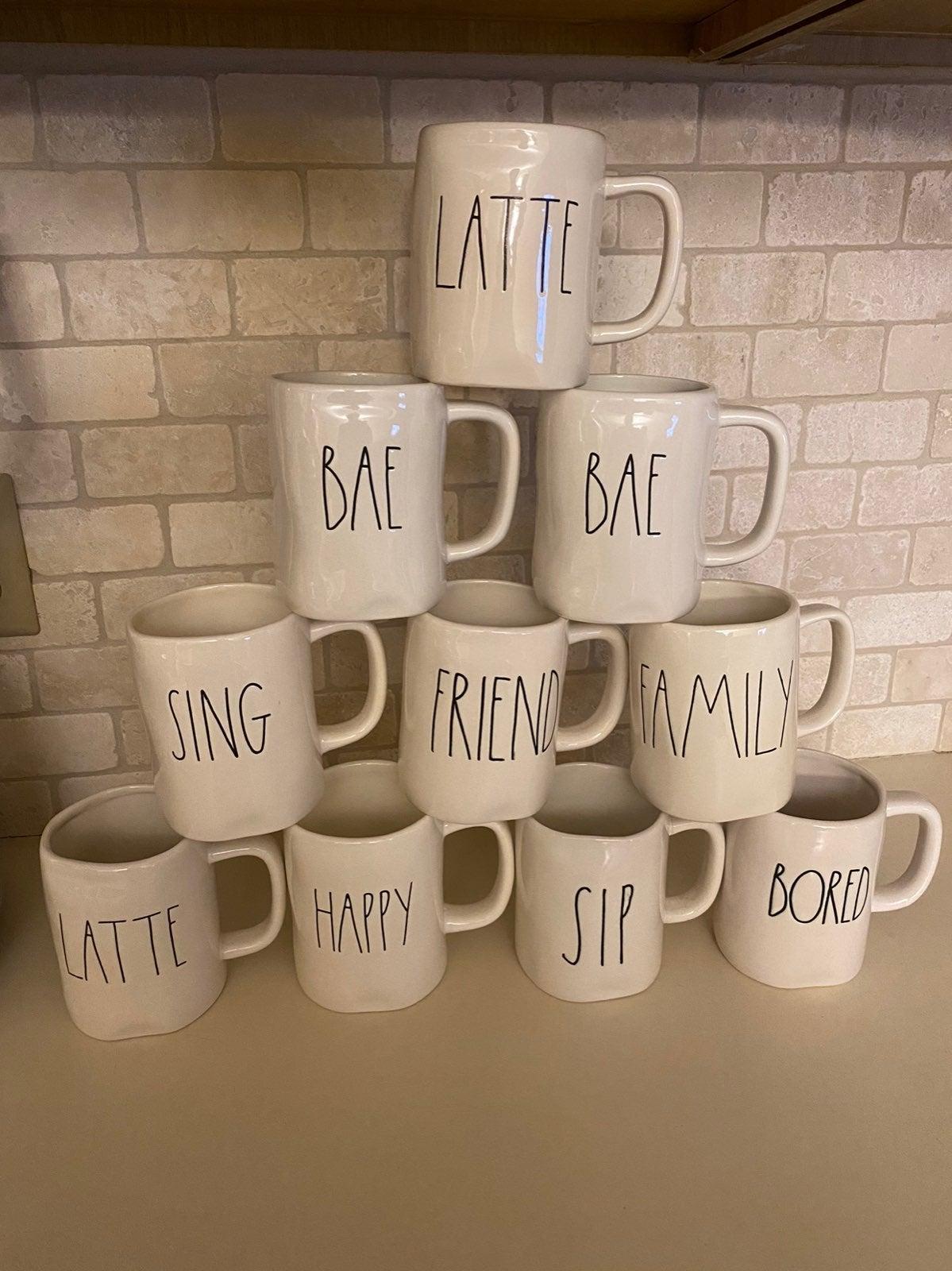Rae Dunn Mug Lot of 10 Mugs
