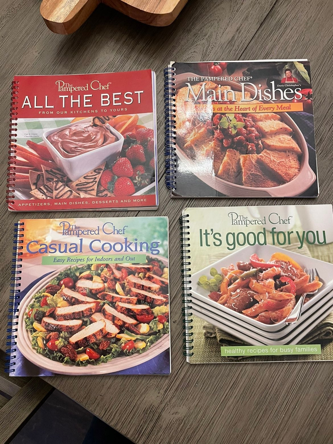 The Pampered Chef Cookbooks (4)