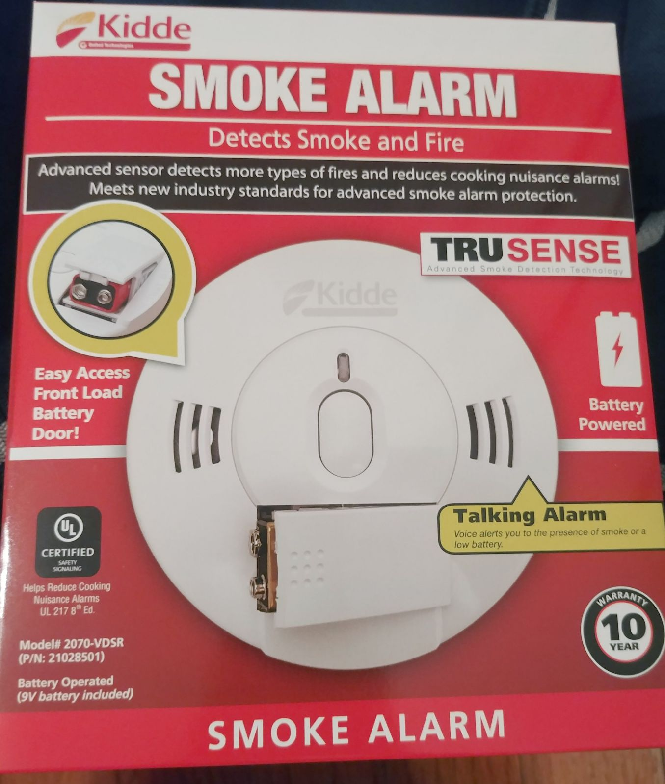 Kidde Talking Smoke Alarm