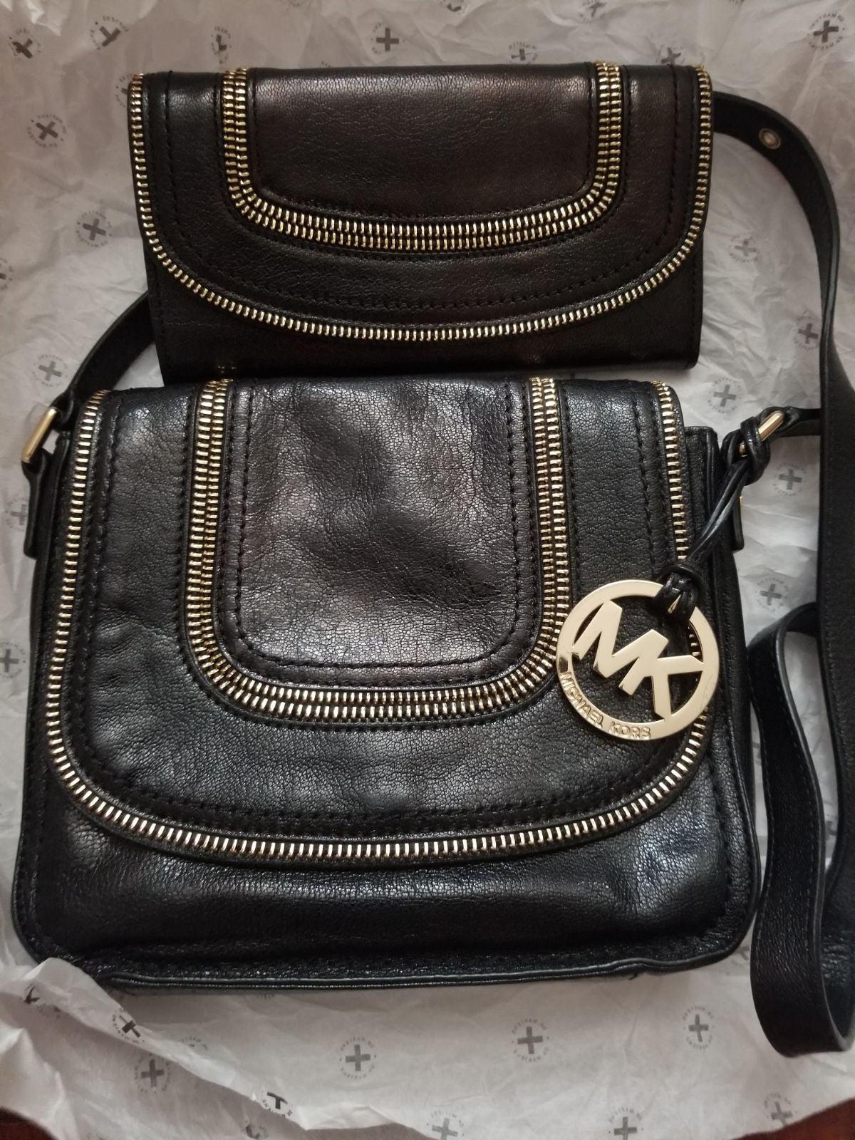 Michael Kors Naomi purse and wallet
